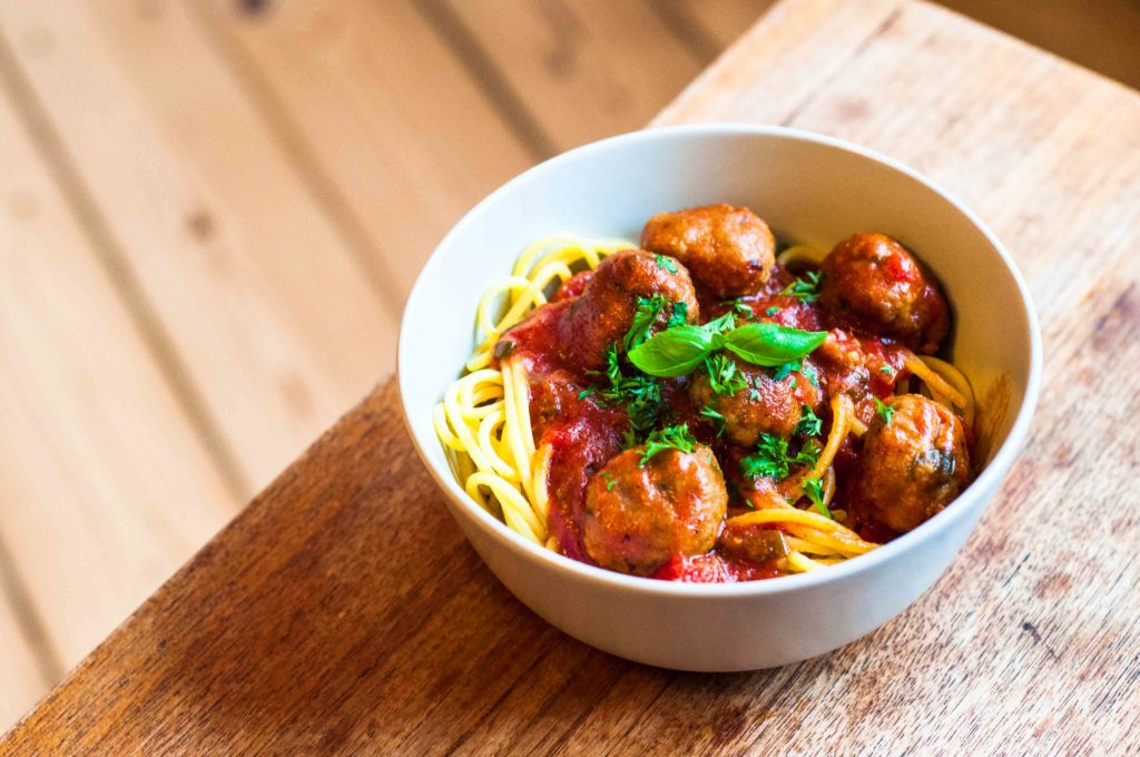Spaghetti Meatballs - low FODMAP opskrift