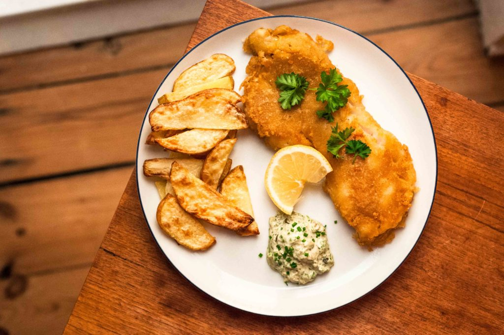 Fish 'n Chips - low FODMAP opskrift