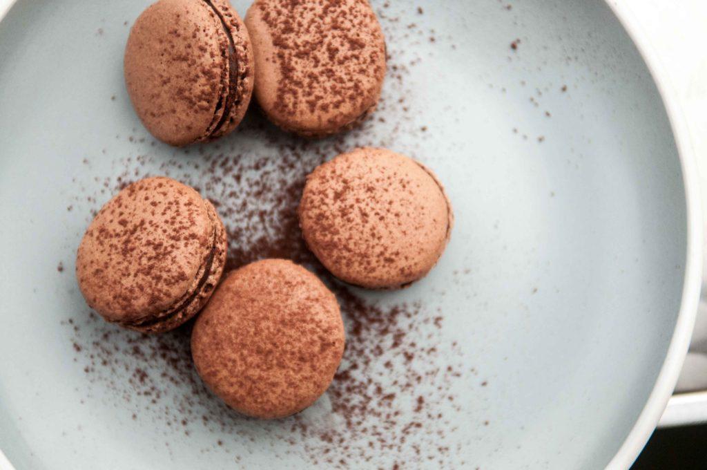 Chokolademacarons - low FODMAP opskrifter
